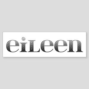Eileen Carved Metal Bumper Sticker