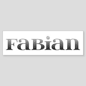 Fabian Carved Metal Bumper Sticker