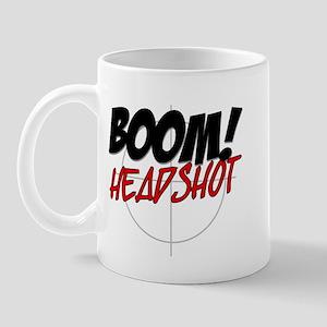 Boom! Headshot Mug