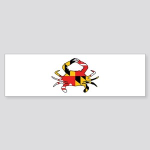 Maryland Crab Bumper Sticker