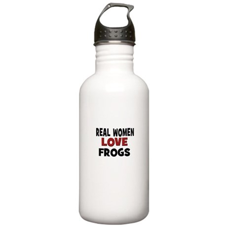 Real Women Love Frogs Stainless Water Bottle 1.0L