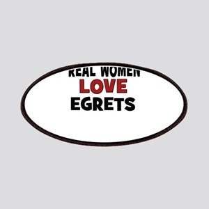Real Women Love Egrets Patches
