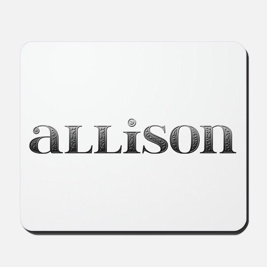 Allison Carved Metal Mousepad