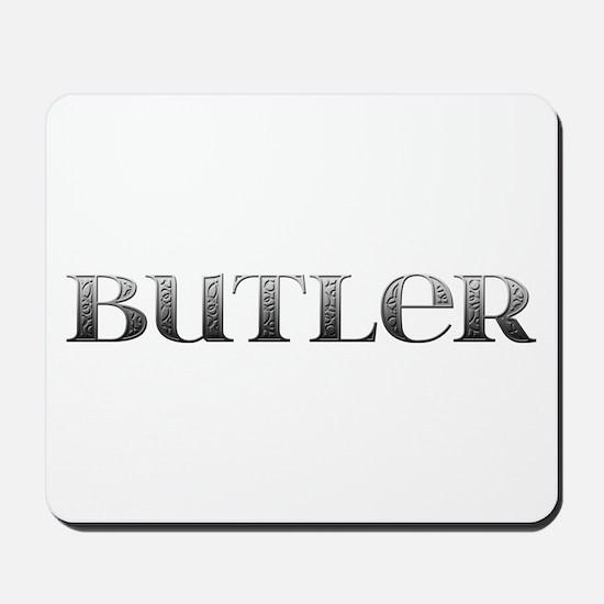 Butler Carved Metal Mousepad