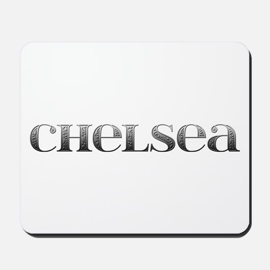 Chelsea Carved Metal Mousepad