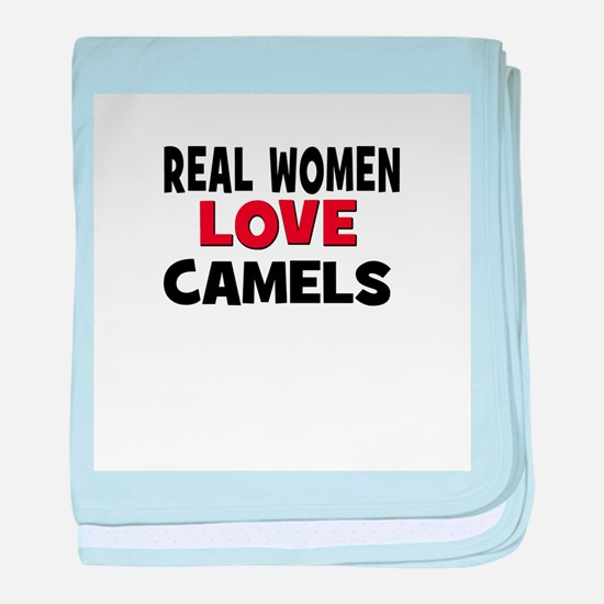 Real Women Love Camels baby blanket