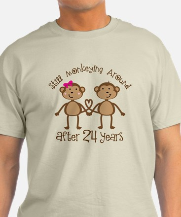 24th Anniversary Love Monkeys T-Shirt