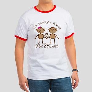 25th Anniversary Love Monkeys Ringer T