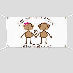50th Anniversary Love Monkeys Banner