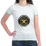 Immigrant Minuteman Border Pa Jr. Ringer T-Shirt