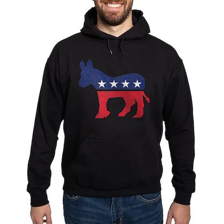 Democrat Donkey Hoodie (dark)