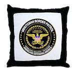 Immigrant Minuteman Border Pa Throw Pillow