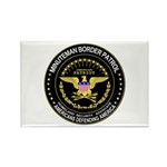 Immigrant Minuteman Border Pa Rectangle Magnet (10