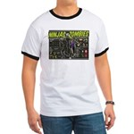 Ninjas vs. Zombies Ringer T