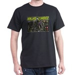 Ninjas vs. Zombies Dark T-Shirt