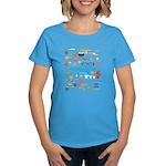 I'm Cooler Than You Because.. Women's Dark T-Shirt