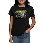 Ninjas vs. Zombies Women's Dark T-Shirt