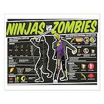 Ninjas vs. Zombies Small Poster