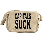 Capitals Suck Messenger Bag