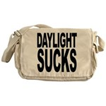 Daylight Sucks Messenger Bag