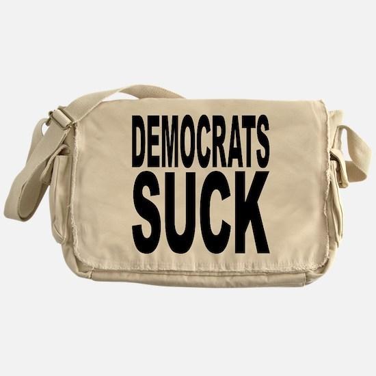 Democrats Suck Messenger Bag