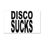 Disco Sucks Car Magnet 20 x 12