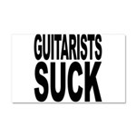 Guitarists Suck Car Magnet 20 x 12