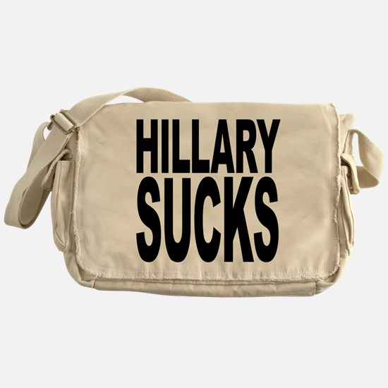 Hillary Sucks Messenger Bag
