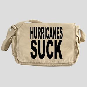 Hurricanes Suck Messenger Bag