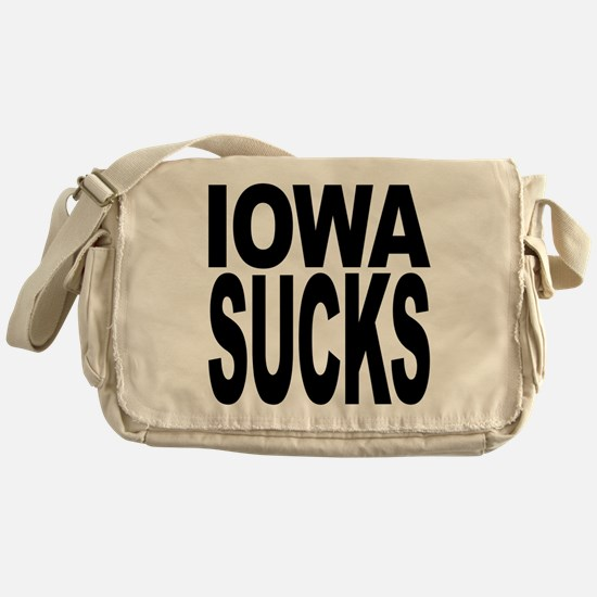Iowa Sucks Messenger Bag
