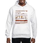 Bacon Bacon Bacon!!! Hooded Sweatshirt