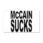 McCain Sucks Car Magnet 20 x 12