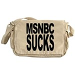 MSNBC Sucks Messenger Bag
