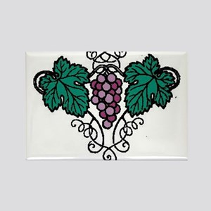 Grapes310 Rectangle Magnet