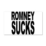 Romney Sucks Car Magnet 20 x 12