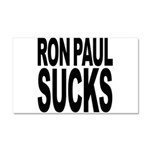 Ron Paul Sucks Car Magnet 20 x 12