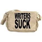 Writers Suck Messenger Bag