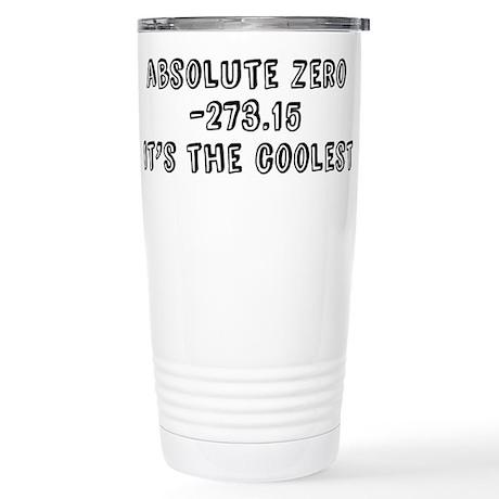 Absolute Zero Stainless Steel Travel Mug
