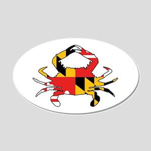 Maryland Crab Wall Decal