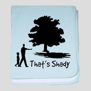 That's Shady baby blanket