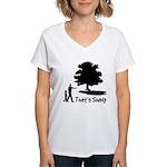 That's Shady Women's V-Neck T-Shirt