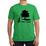 That's Shady Men's Fitted T-Shirt (dark)