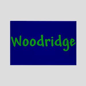Woodridge Rectangle Magnet