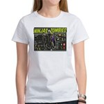 Ninjas vs. Zombies Women's T-Shirt