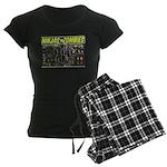 Ninjas vs. Zombies Women's Dark Pajamas