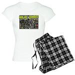 Ninjas vs. Zombies Women's Light Pajamas