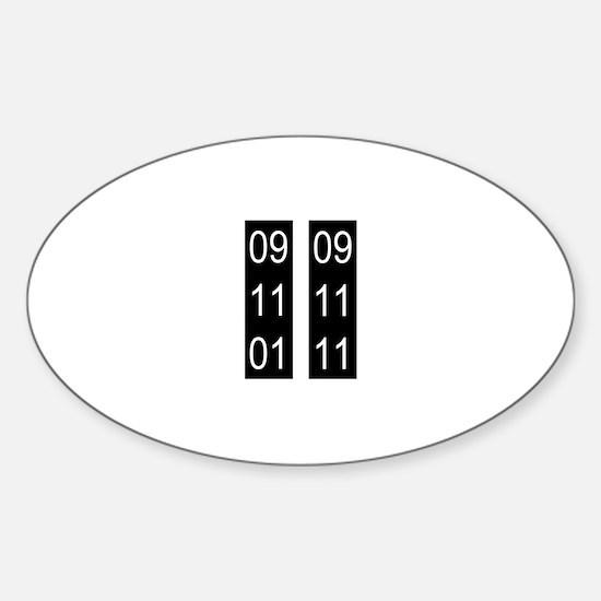 911_nyc_ten Sticker (Oval)