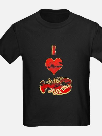 Vintage I heart Lobster T