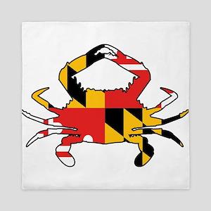 Maryland Crab Queen Duvet