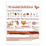 Bacon Bacon Bacon!!! Small Poster